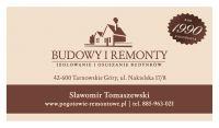 Wiadomość do firmy Usługi Ogólnobudowlane - Tomaszewski Sławomir