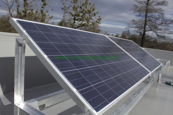 Montaż elektrowni słonecznej na sachu płaskim - sunekonergy Bielsko-Biała