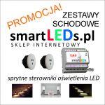 Promocja na zestawy schodowe oświetlenia LED smartLEDs