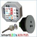 smartLEDs ALFA PLUS Czujnik ruchu z modułem czasowym, wbudowanym wyłącznikiem zmierzchowym i sondą